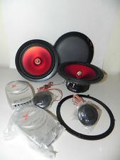 Kit impianto completo casse auto 2 vie  woofer 130 mm dome tweeter  filtri 120W