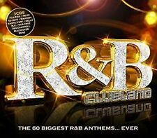 R and B Clubland 3 CD Pack - the 60 Biggest Hit Anthems 2 CDs Original Audio CD