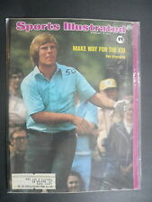 Sports Illustrated February 11, 1974 Ben Crenshaw PGA Rick Barry West Feb '74 C