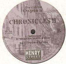 DAVIDSON OSPINA - Chronicles II - Henry Street Music