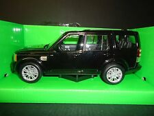 Welly Land Rover Discovery 4 Black 1/24