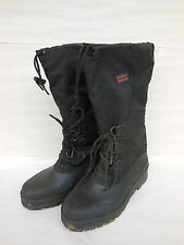 SOREL Women's Insulated Winter Boots Size 10 in Black Made by Kaufman Canada