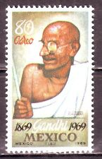 Mexico(America)-Gandhi 80 aereo MNH Condition Stamp #G20