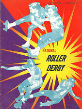 RD6 1951 Roller Derby Yearbook Panthers vs Jolters VERY RARE