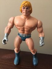 1987 Mattel He Man Laser Power Spain Head Masters of the Universe Made in Italy