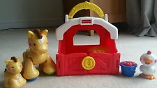 Fisher Price Amazing Animals Horse Tote House, Complete - Excellent Condition