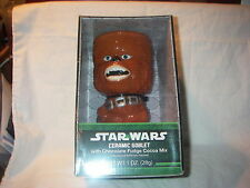 STAR WARS CERAMIC GOBLET & COCOA MIX CHEWBACCA NEW IN BOX 2013