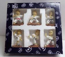 6 Shaolin Kung Fu Karate Kids Figure - Action Figurine Set