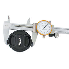 Professional Dial Caliper with 6 Inches Measuring Range Stainless Steel + Case