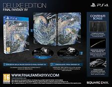 FINAL FANTASY XV 15 DELUXE EDITION - SONY PS4 - NUOVO SIGILLATO NEW
