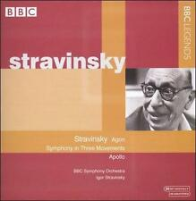 Stravinsky: Agon; Symphony in Three Movements; Apollo, New Music