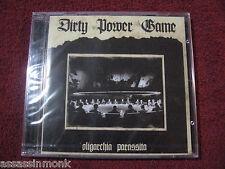 DIRTY POWER GAME Oligarchia Parassita CD + DVD Extreme Noise Terror EUs Arse