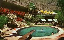 Old Photo. California. Palm Springs Tennis Club - Pool & Diving Board