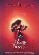 Walt Disney's Beauty and the Beast movie poster print  :  12 x 17 inches (a)