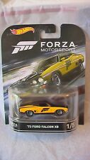 HOT WHEELS 2016 CASE D RETRO 73 FORD FALCON XB YELLOW NEW IN STOCK a