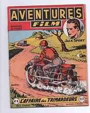 AVENTURES FILM n°6 - Artima septembre 1952. Superbe état