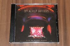 The Neville Brothers  – Live On Planet Earth (1994) (CD) (540 225-2)