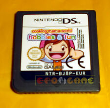 COOKING MAMA WORLD HOBBIES & FUN DS Nintendo Ds ○○○○ SOLO CARTUCCIA - BX