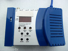 2 Canale UHF VHF banda larga RF Audio Video HF Modulatore Cinch/antenna convertitore