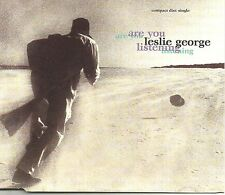 LESLIE GEORGE Are you listening REMIXES & UNRELEASED Europe CD Single USA Seller