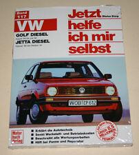 Reparaturanleitung VW Golf II / 2 + Jetta mit 1,6 l Diesel, Baujahre 1983 - 1992