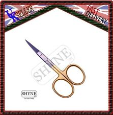 3.5'' Super Sharp Stainless Steel Baby Nail Scissors Cuticul Curved Scissors