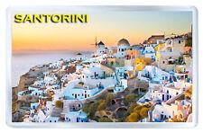 SANTORINI GREECE MOD4 FRIDGE MAGNET SOUVENIR IMAN NEVERA
