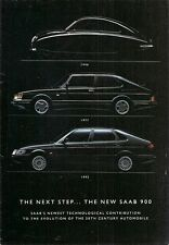 Saab 900 5-dr 1993-94 UK Market Launch Mailer Sales Brochure