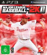 Major League Baseball 2K11 ( 2011 ) ( SONY PS3 ) NEW SEALED