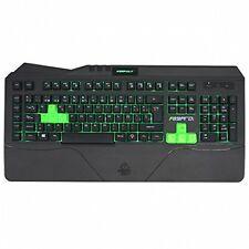 TECLADO RETROILUMINADO GAMING KEEP OUT F89PRO 7 COLORES iluminado gamer keyboard