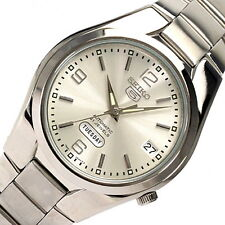 Seiko 5 Men's SNK619K1  Stainless Steel Automatic 21 Jewels Day Date Watch