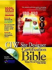 CIW Site Designer Certification Bible (With CD-ROM), Natanya Pitts, Chelsea Vale