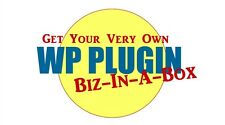 Webmasters Wordpress Plugin Biz-In-A-Box with Master Resale Rights - CD/DVD