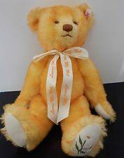 Steiff Large Loves Me, Loves Me Not Yellow Tipped Mohair Bear 40 cm Ltd Ed 3,500