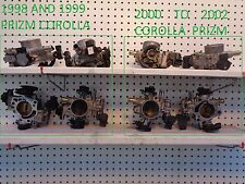 TOYOTA COROLLA CHEVY PRIZM   2000  TO 2002 OEM THROTTLE BODY SMOOTH IDLE CONTROL