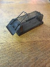 Early Primitive Wood & Wire Live Mouse Trap~ Spring Loaded Door