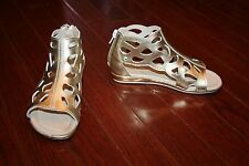 UMI SHOES ROXANNA B GLADIATOR SANDALS SIZE EU 28 (US 10,5M) GOLD
