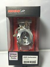 Scooter GY6 150cc KOSO High Performance 30mm Flatside Carburetor.