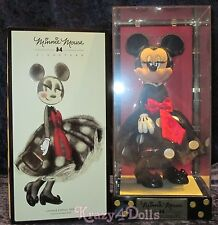 """Disney Designer Minnie Mouse 12"""" Signature Limited Edition Doll New!"""