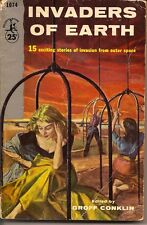 Invaders Of Earth Paperback Book 1952