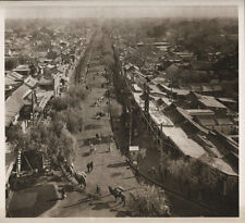 1920's CHINA GRAVURE PAGEANT OF PEKING DONALD MENNIE - STREET IN THE TARTAR CITY