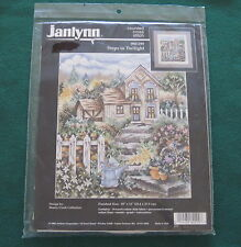 STEPS TO TWILIGHT - Stoney Creek - Janlynn Counted Cross Stitch Kit - Cottage