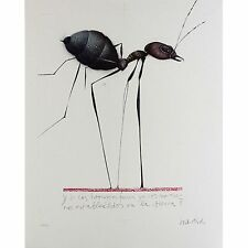 """PAUL WUNDERLICH Originallithographie """"HORMIGA"""""""