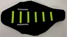 New NEON YELLOW HONDA Ribbed Seat cover CRF450R 2005 2006 2007 2008