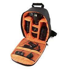 Waterproof Camera DSLR Lens Backpack Case Bag Adjustable Padded Divider OG