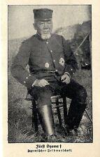 Fürst Oyama Japanischer Feldmarschall (verstorben) Bilddokument von 1916