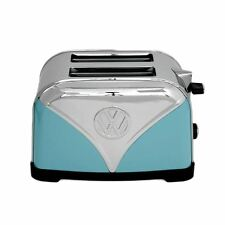 Official VW Blue Volkswagen Logo Design Kitchen Toaster - 2 Slice Retro Kitchen