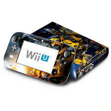 Skin Decal Cover for Nintendo Wii U Console & GamePad - Transformers Bumblebee 1