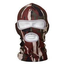 Camo Balaclava Full Face Mask Army Military Motorcycle Cycling Outdoor Sport