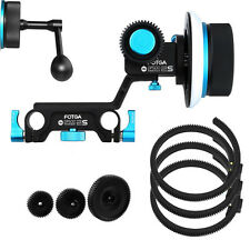FOTGA DP500IIS Dampen Follow focus For DSLR 15mm rod +Gear Belt + Crank Handle